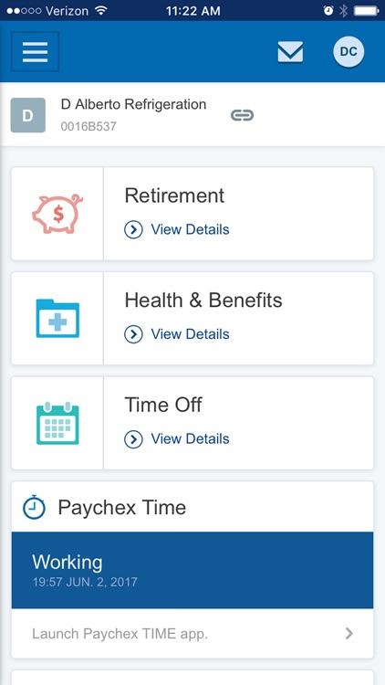 Paychex Flex screenshot-0