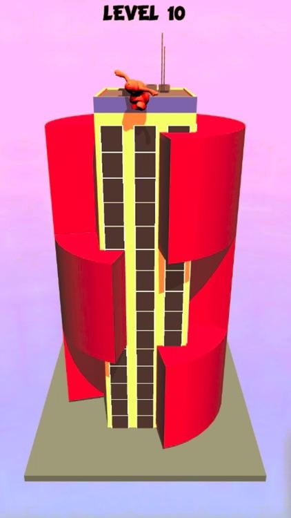 helix tower jump 3D screenshot-3