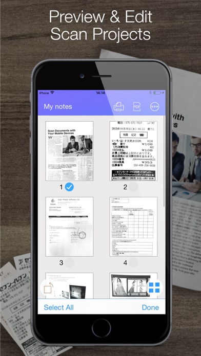 Screenshot for Pocket Scanner Ultimate in Jordan App Store
