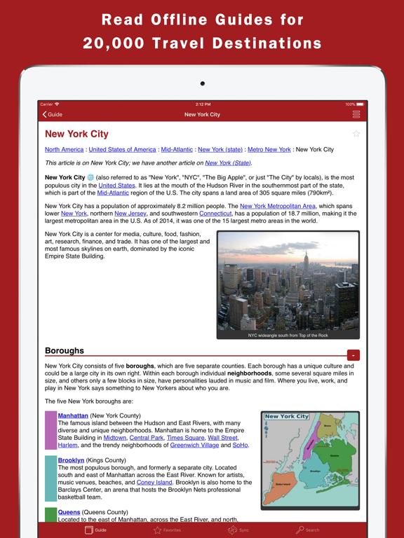 World Travel Guide Offlineのおすすめ画像1