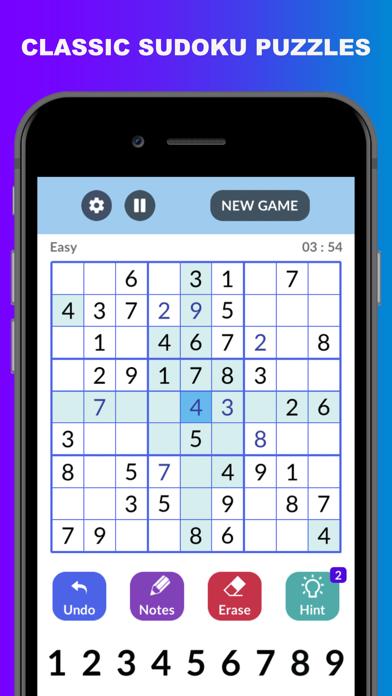 Sudoku : Classic Sudoku Games