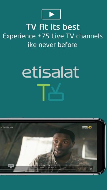 etisalat TV screenshot-8