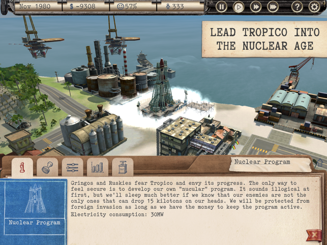 ‎Tropico Screenshot