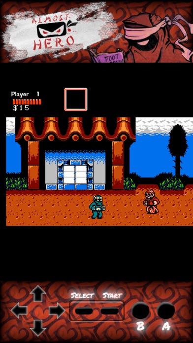 Almost Hero: Retro Hero screenshot 1