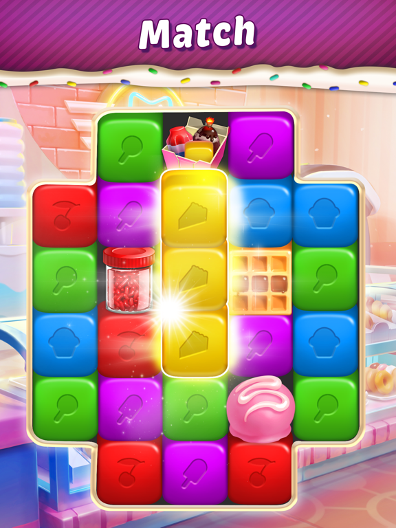 iPad Image of Sweet Escapes: Build A Bakery