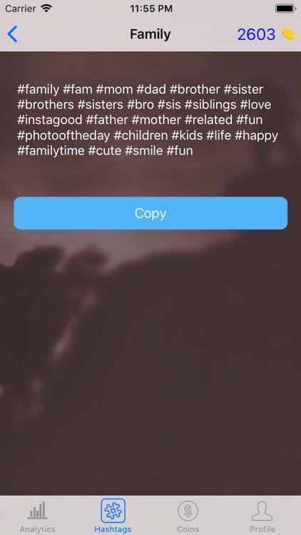 Spy for Instagram Hashtags