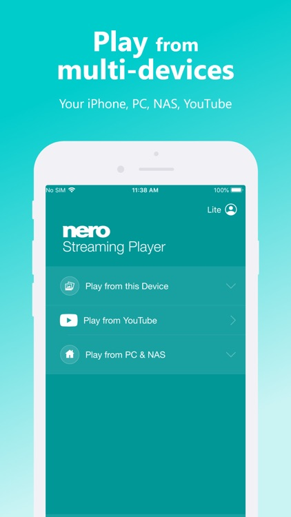 Nero Streaming Player screenshot-1