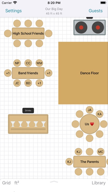Seat Puzzle for Wedding Venues screenshot-0