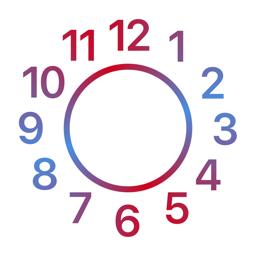 Ícone do app Date & Time Widget