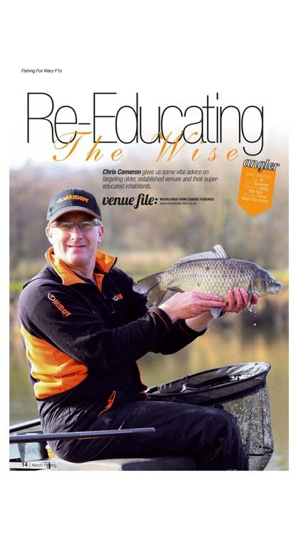 Match Fishing Magazine screenshot-5