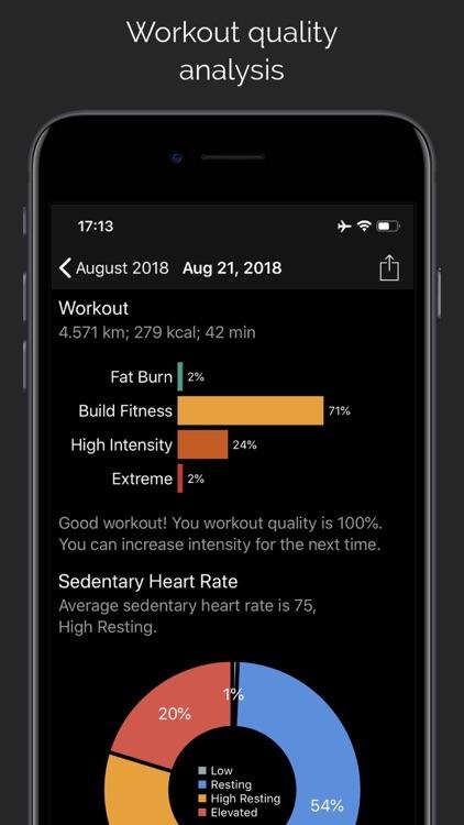 CardioBot - Heart Rate Tracker screenshot-4