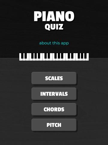 PianoQuiz - náhled