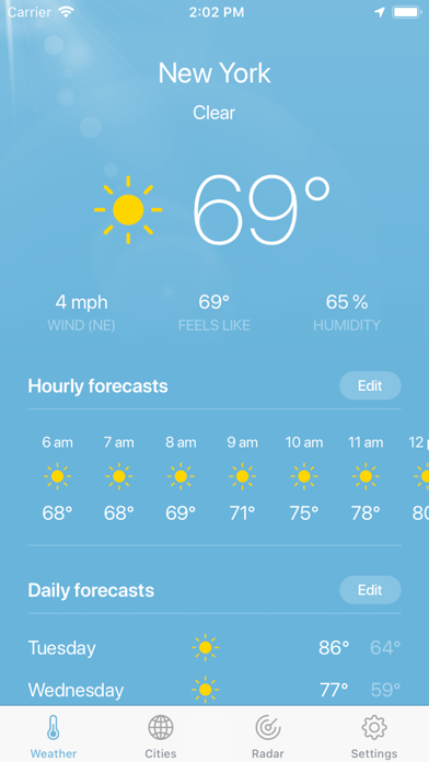 Weather · screenshot 1