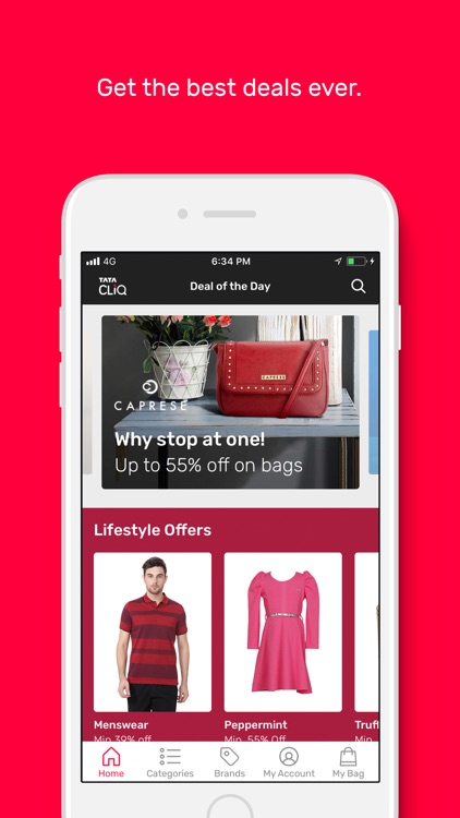 Tata CLiQ -Online Shopping App screenshot-1