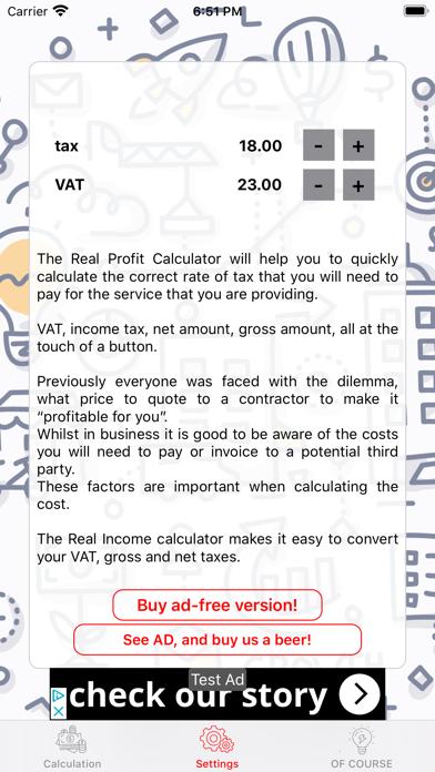 myProfit (lite) screenshot three