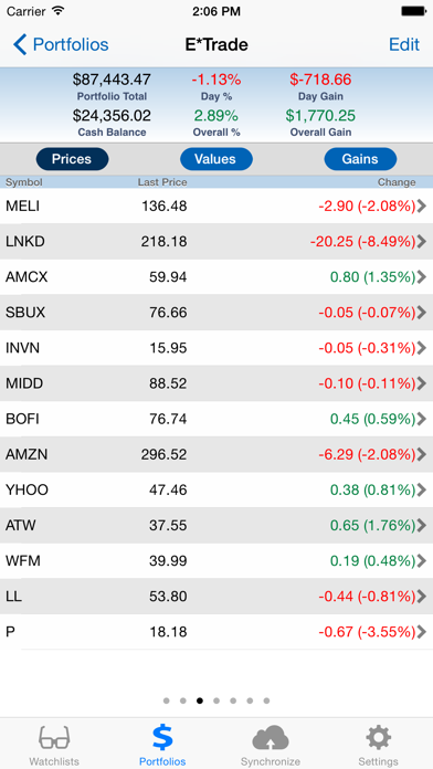 StockMarketEye screenshot two