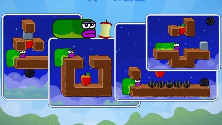 Apple Worm: Logic Puzzle screenshot-4