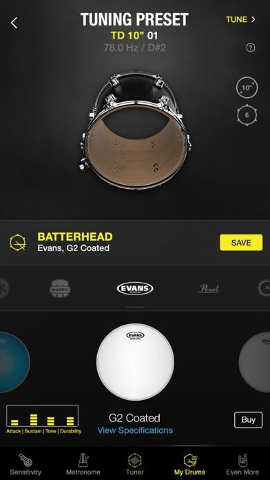 Drumtune PRO | Drum Tunerのおすすめ画像4