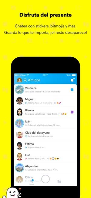Snapchat en App Store