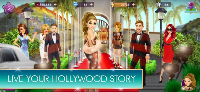 hollywood story mod apk 2018
