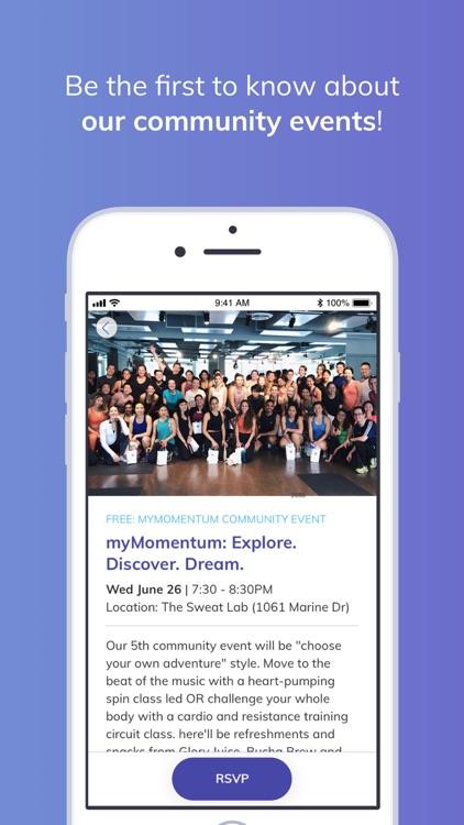 myMomentum: wellness made easy screenshot-5