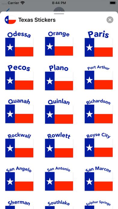 Texas Stickers screenshot 9