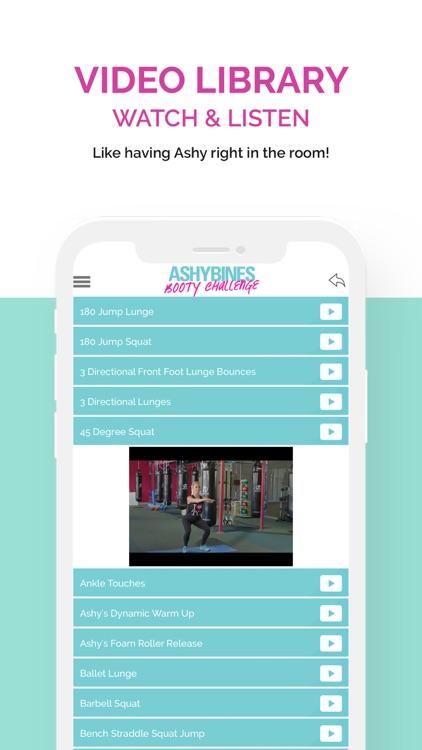 Ashy Bines BOOTY Challenge screenshot-4