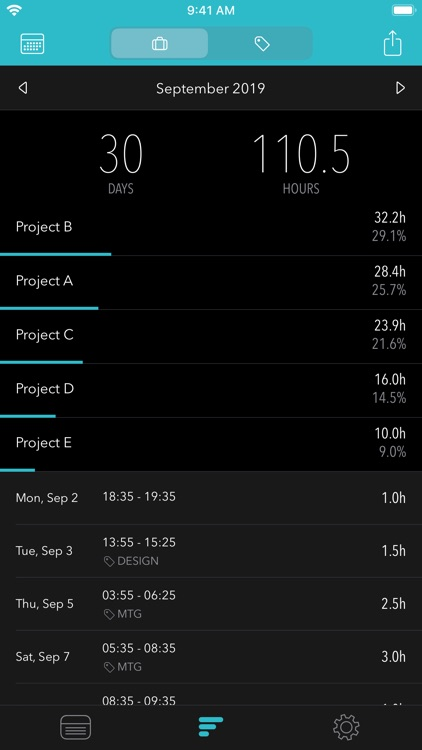 Timesheet - Time Tracker screenshot-8