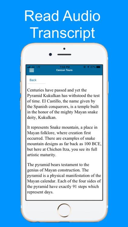 Mayan Ruins Tour Guide: Cancun screenshot-4