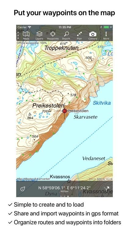 Topo GPS Norway screenshot-5
