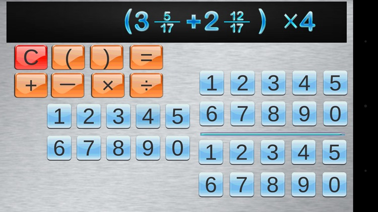 Fraction Calculator & progress screenshot-1