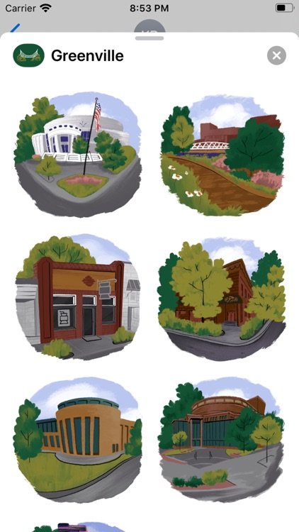 Greenville Stickers screenshot-3