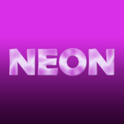 6 Animated Neon Stickers