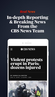 CBS News: Live Breaking News iphone images
