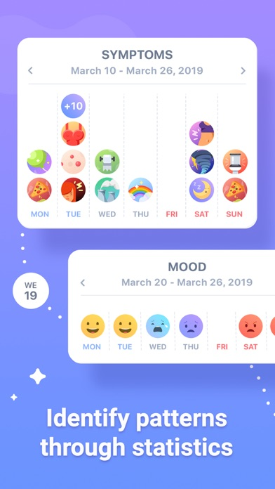 Paloma: Period Tracker & Diary Screenshot