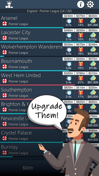 Idle Football Tycoon screenshot 2