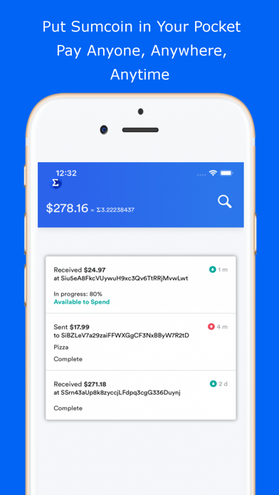 Slice Wallet Sumcoin By Sigma Systems Inc Ios United States Searchman App Data Information