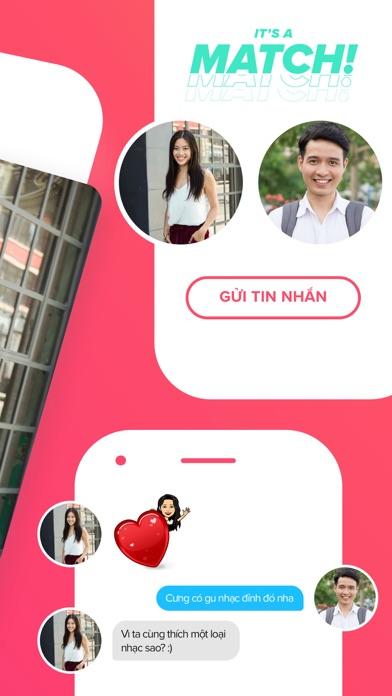 Screenshot for Tinder in Viet Nam App Store
