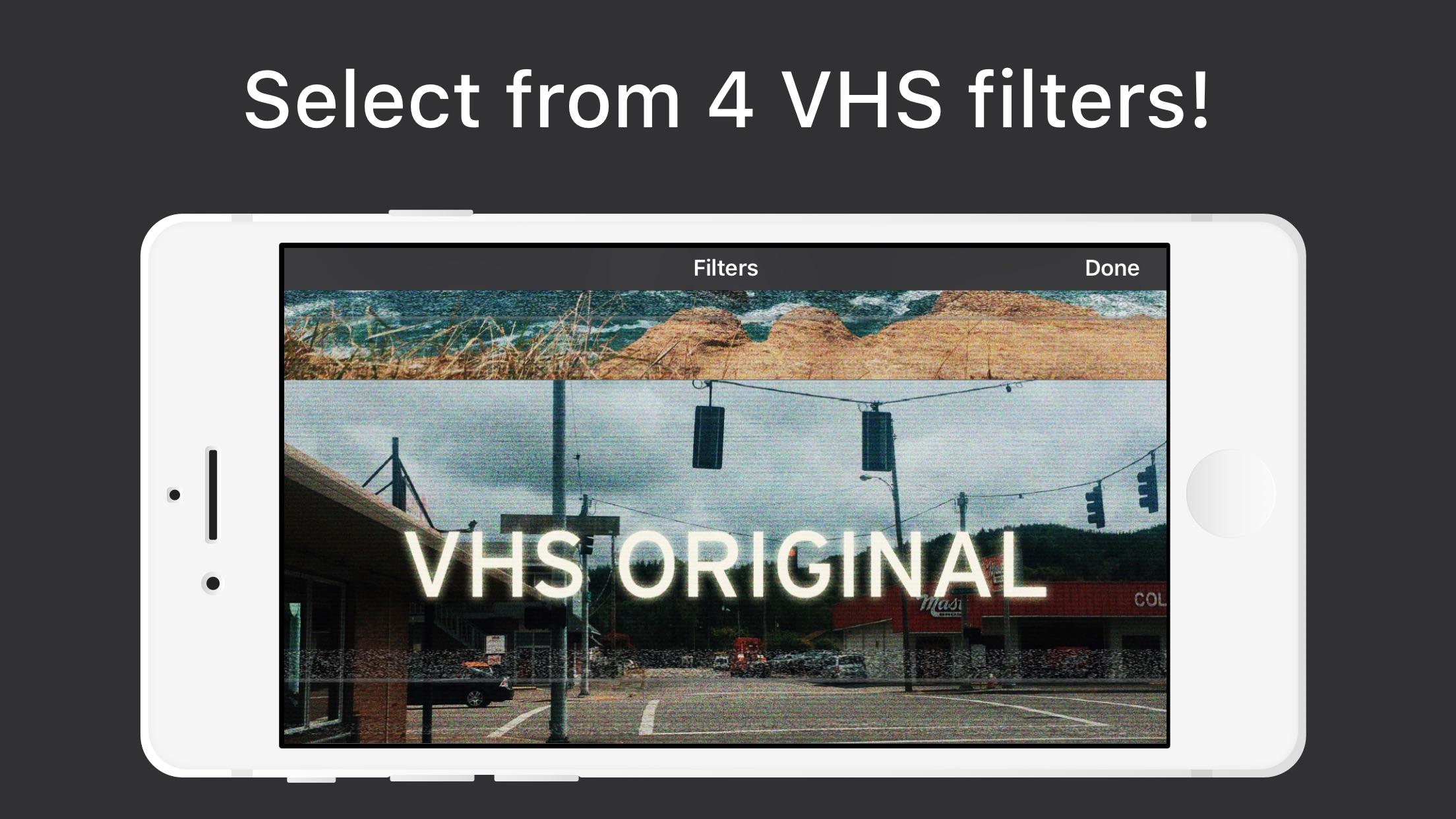 VHS Video Cam - VCR Retro Cam Screenshot