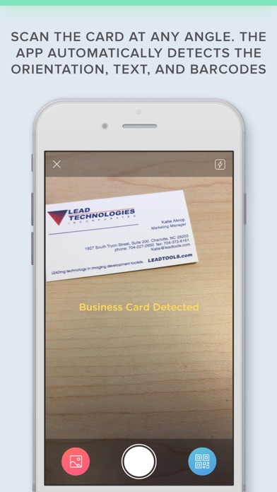 Business Card Scanner with OCRScreenshot of 4