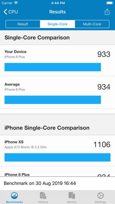 Geekbench 5 Pro Screenshots