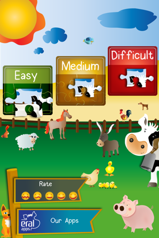 Animal Jigsaw Puzzle: Farm PRO - náhled