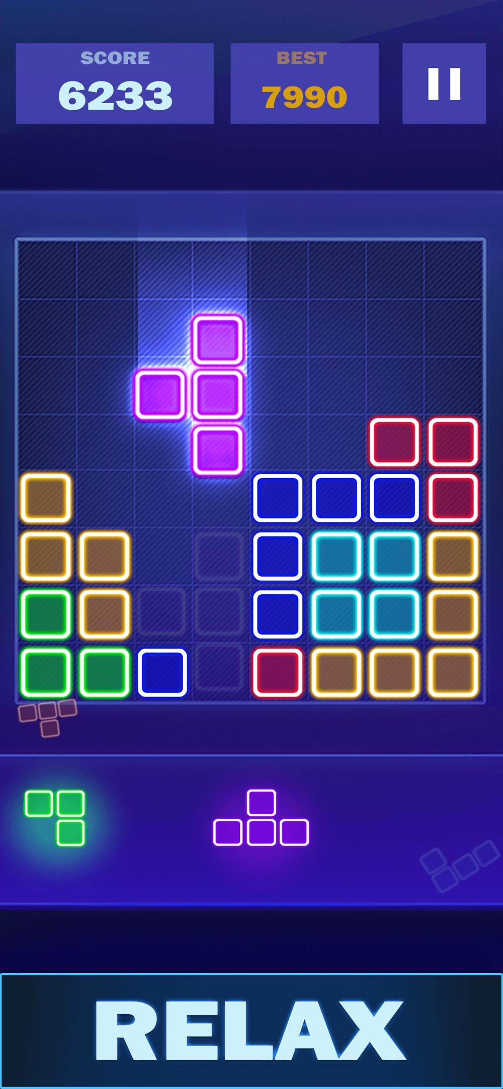 Glow Block Puzzle Legend hack tool