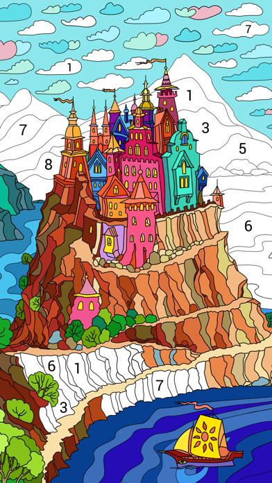 Happy Color™ jeux de coloriage App Analyse et Critique - Games - Apps Rankings!