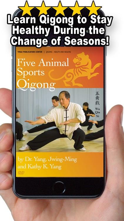 Five Animals Qigong (YMAA) screenshot-4