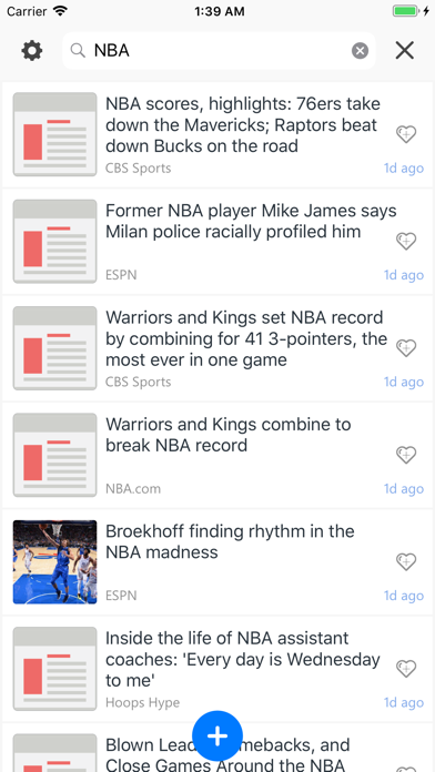 Unread: Breaking & Smart News screenshot three