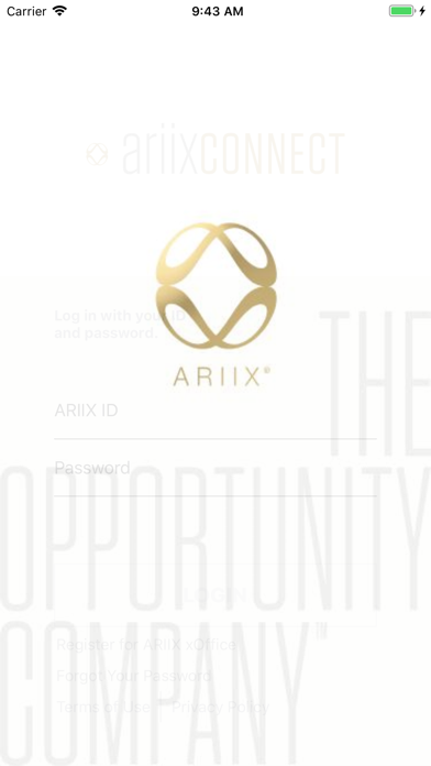 messages.download ARIIX CONNECT software