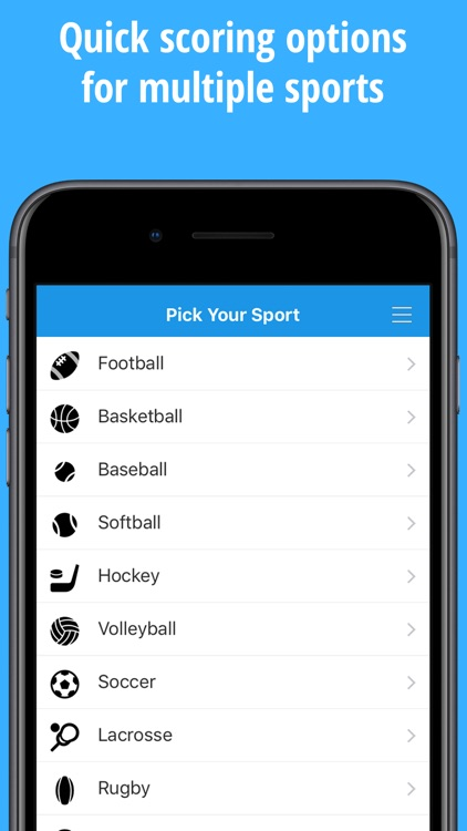 ScoreStream Sports Scores screenshot-4