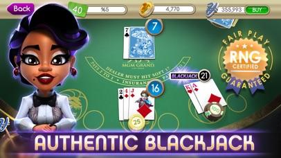 myVEGAS Blackjack – Casino app image