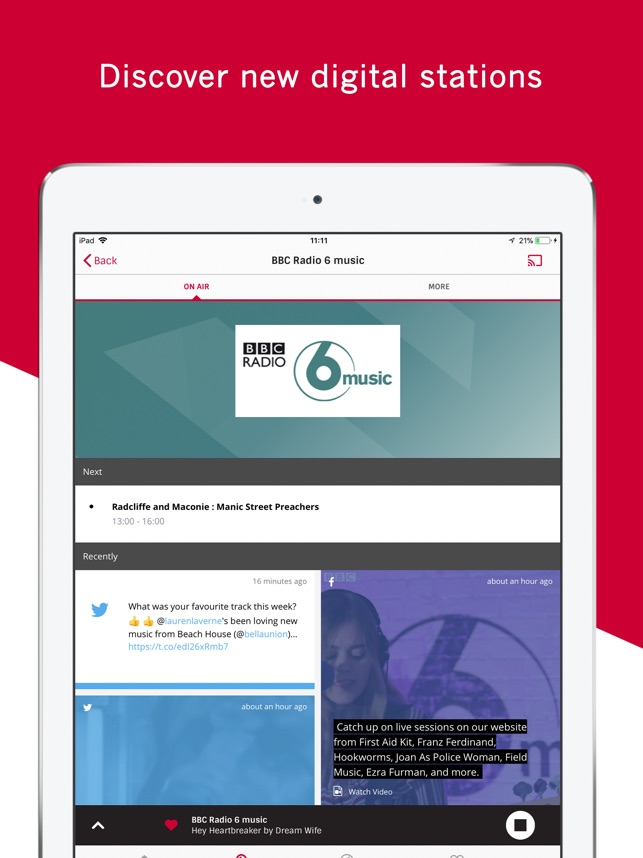 Radioplayer - UK radio is here on the App Store